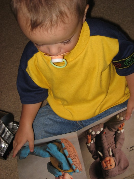 Anthony Gonzalez (18 months), June 2009