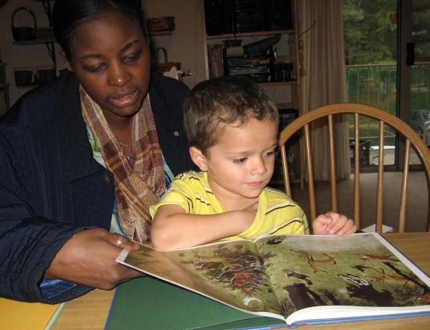 Christopher (age 4) and Mrs. LaSonya